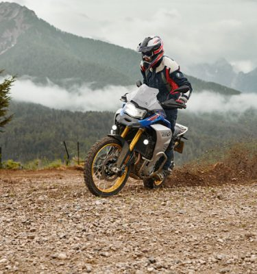 BMW F 850 GS Adventure im Drift