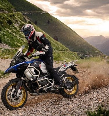 BMW R1250GS Adventure im Drift