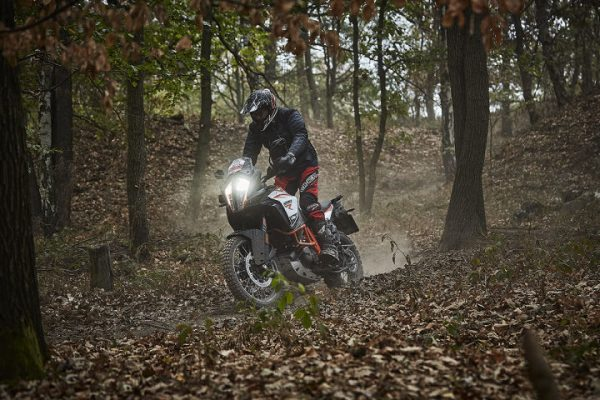 KTM Adventure 1290 R beim Endurotraining im Enduropark Meltewitz