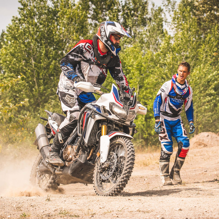 Enduro Training mit Honda Africa Twin